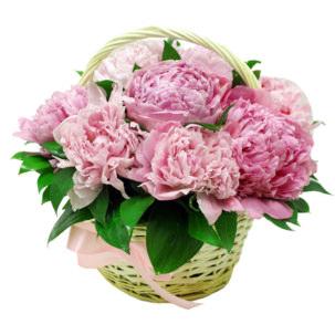 """Цветы в корзинке """"Корона"""""""
